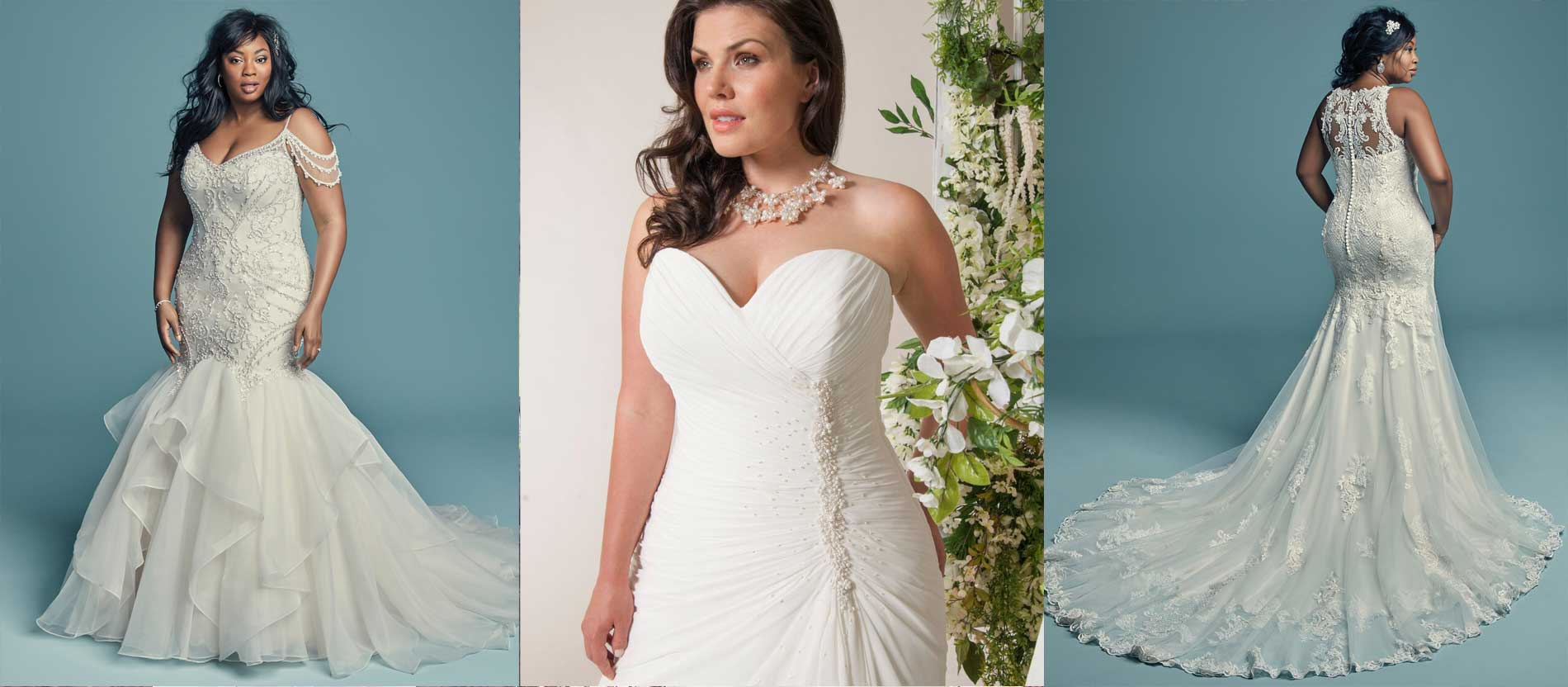 Curvaceous Wedding Dresses