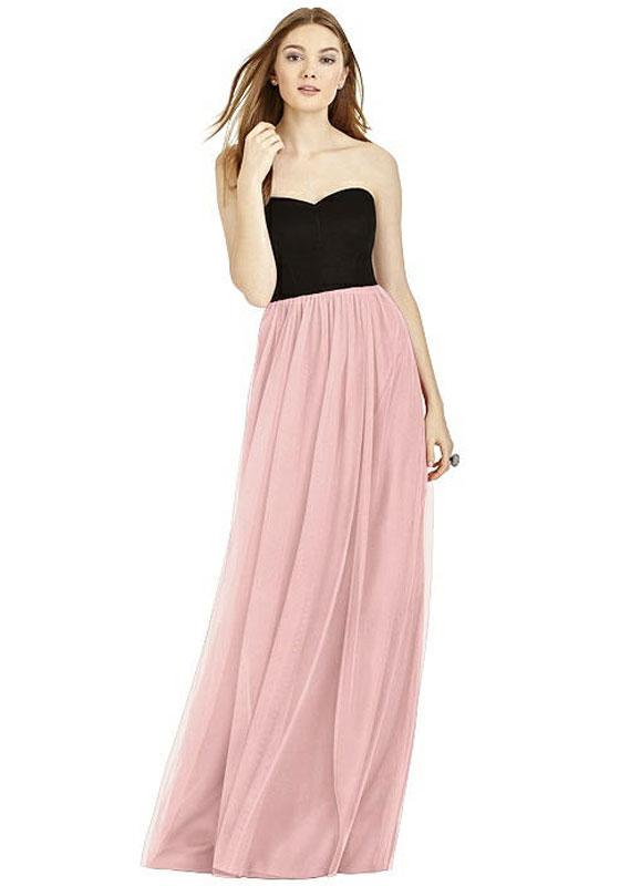 779446ec35d Studio Design style 4506 by Dessy. Full length strapless dress ...