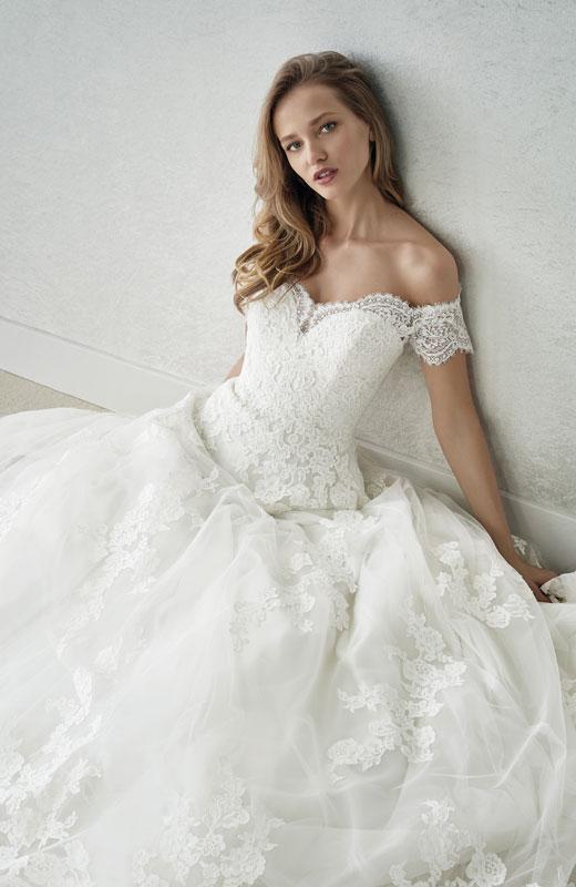 3e5daf06635 St Patrick White One - Fabiana   Wedding Dresses by Poppy Bridal