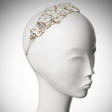 Camellia bridal headdress