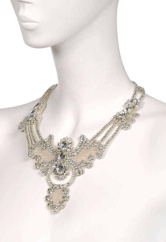 Tzarina necklace crystal